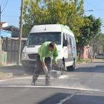 Se realizan trabajos hidráulicos y de reparación de calles en Crisol y Virreyes