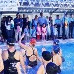 Jorge Macri inauguró la pileta cubierta infantil en el Polideportivo de Villa Adelina