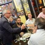 Zamora se reunió con empresarios y comerciantes de Tigre