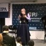 Anibal Fernández dio una charla en San Isidro