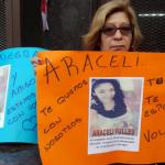 Familiares y amigos de Araceli se manifestaron con reclamos sobre la búsqueda de la joven