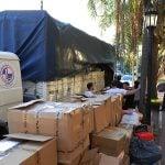 Tigre recibe donaciones para los damnificados de Comodoro Rivadavia