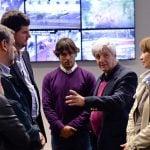 Burzaco fue recibido por Andreotti en San Fernando