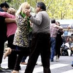 Clases de tango y pista abierta en las plazas de San Fernando