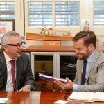 Julio Zamora recibió en Tigre al embajador de Finlandia