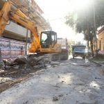 Continúan las obras de repavimentación en diferentes barriosde San Martín