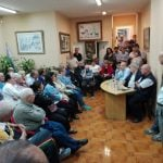 Gustavo Vera dio una charla sobre la coyuntura social en Vicente López