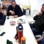 Randazzo anunció su candidatura con el Padre Pepe en San Martín