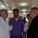 Galmarini junto a referentes del Frente Renovador y el Gen visitaron el Hospital Cetrángolo