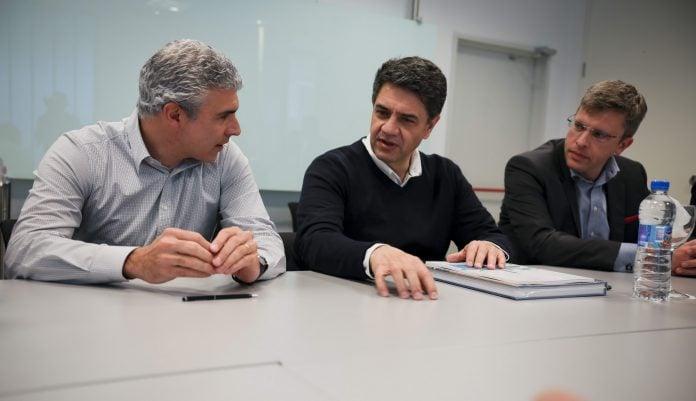 En vicente l pez se firm un convenio de educaci n t cnica for Convenio oficinas tecnicas